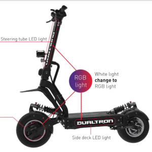 dualtron x electric scooter