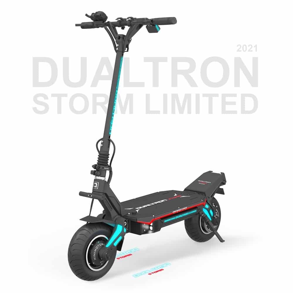 Parte delantera del Dualtron Storm Limited